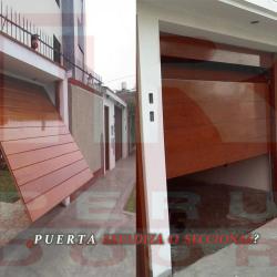 Puertas Levadizas o Seccionales De Garaje Peru